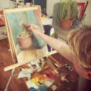 Ksiupol sells paintings online