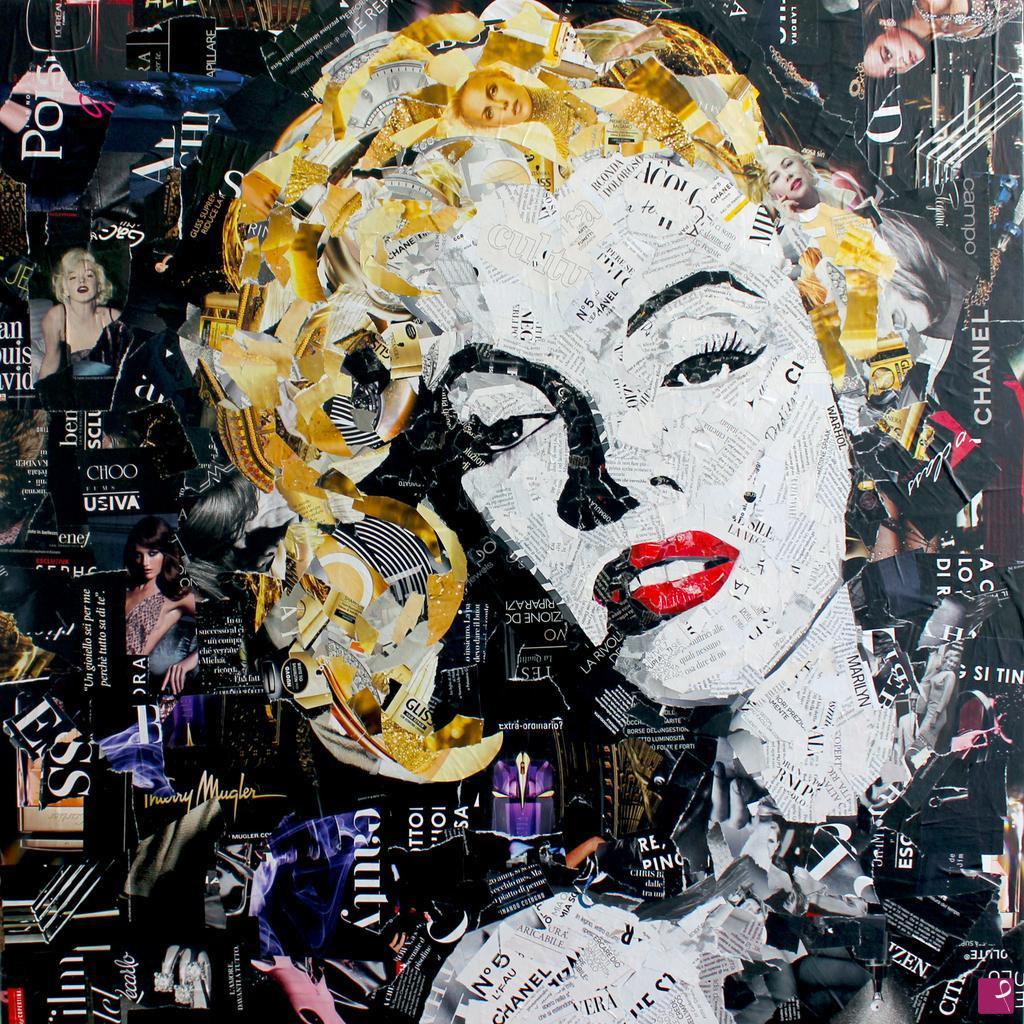 Sale painting - Marilyn Monroe - Paola Montanaro | PitturiAmo®