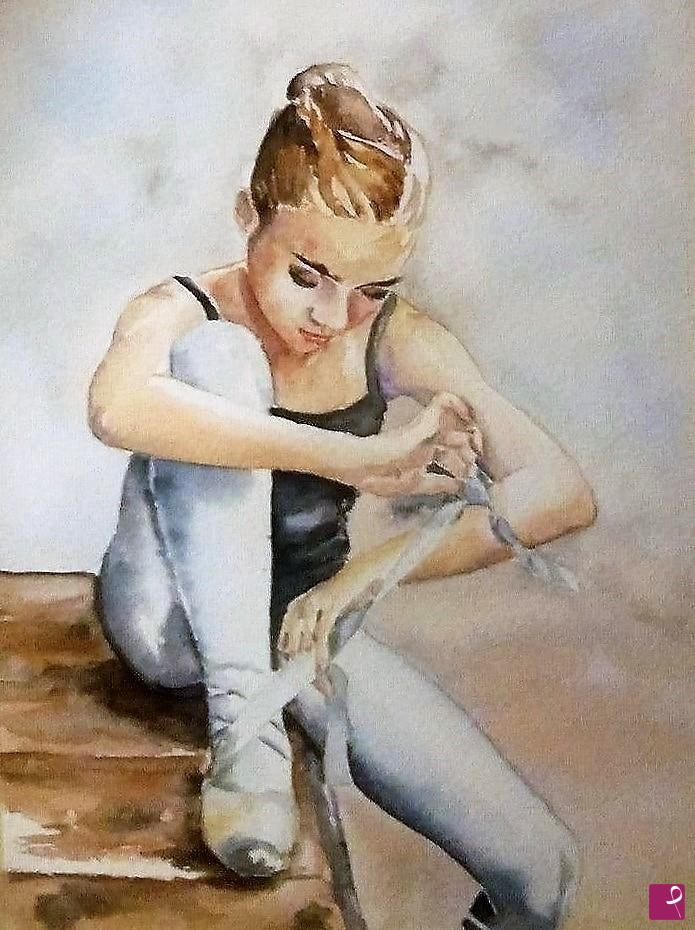 Watercolor Painting with Passion!