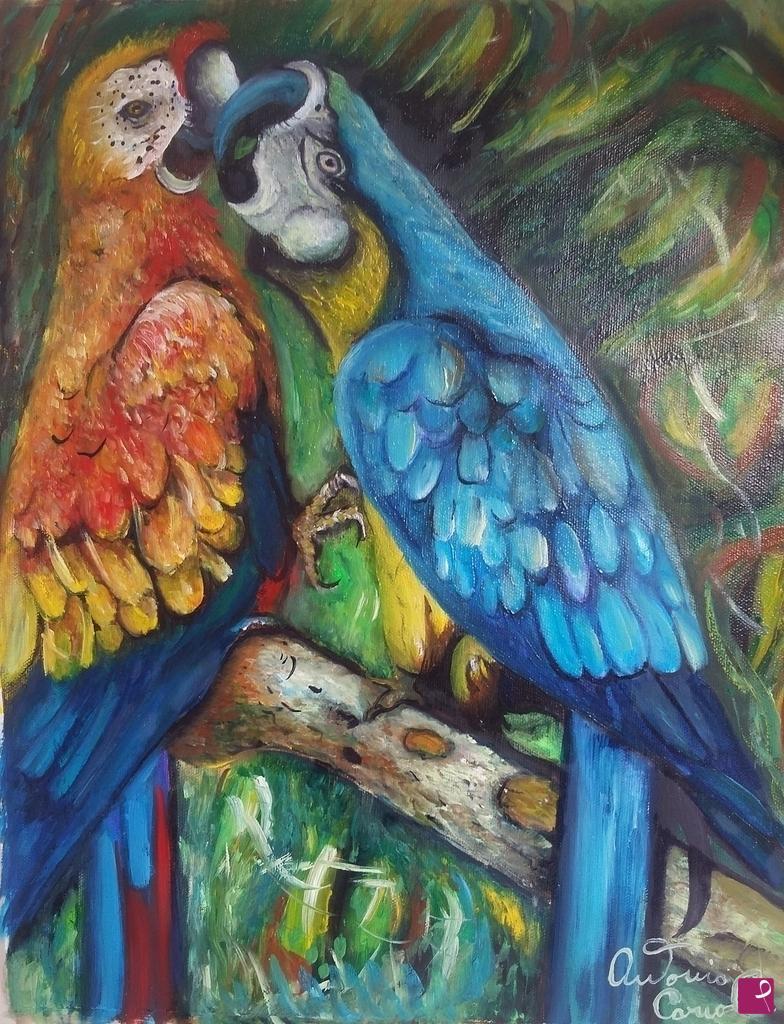Sale Painting The Kiss Cariolani Pitturiamo