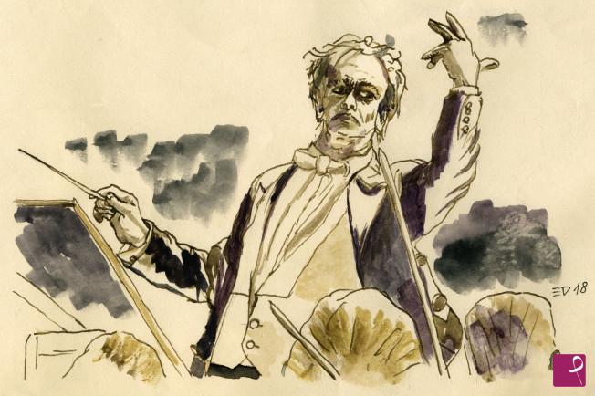Vendita quadro direttore d orchestra der dirigent