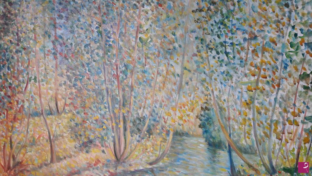 Vendita quadro paesaggio silano giuseppe tavella