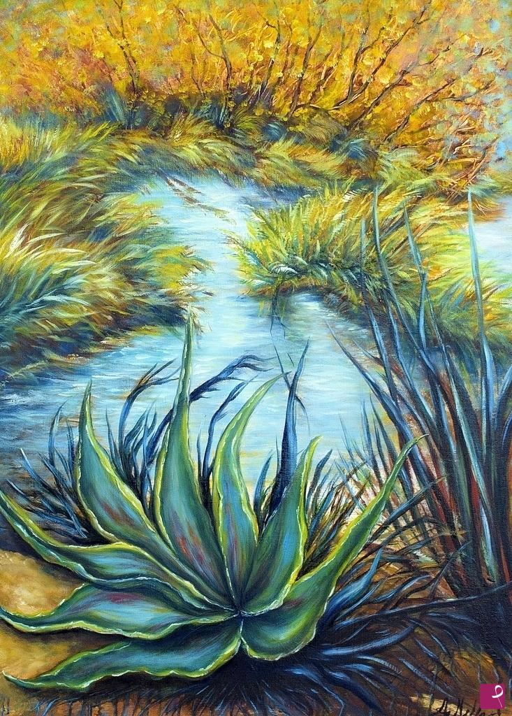 Vendita quadro agave angela melfa pitturiamo for Agave quadri