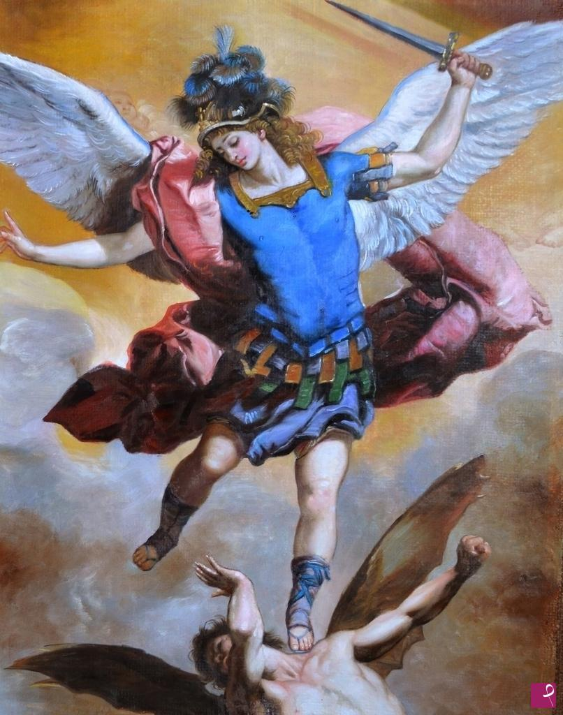 Top Vendita quadro - Arcangelo Gabriele - Lele Manetti | PitturiAmo® AE38
