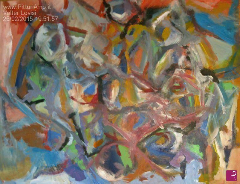 Vendita quadro astratto mis 70 x 55 sober self valter lovisi