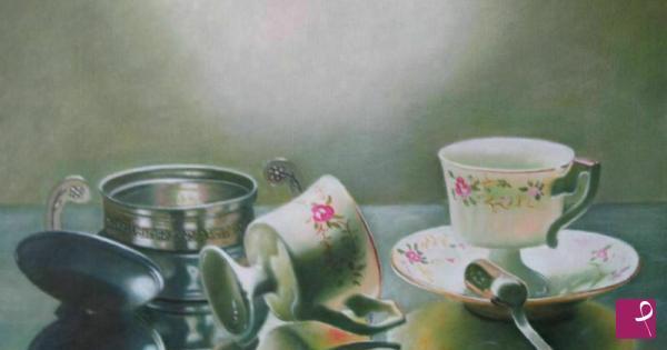 Vendita quadro caff basta grazie francesco visentin for Tazzine caffe moderne
