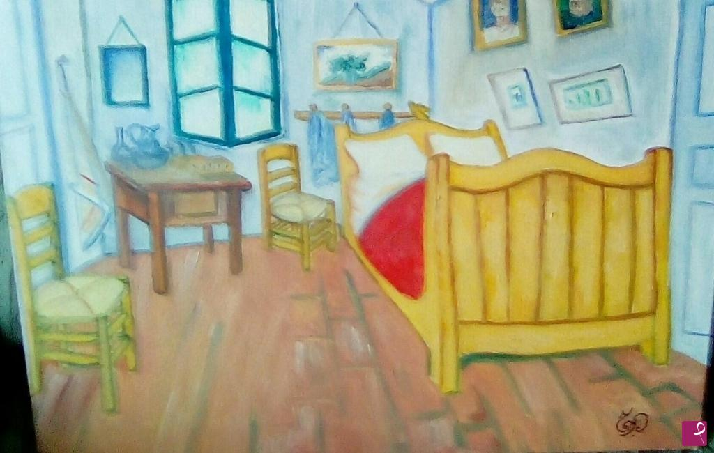 collezione privata quadro - Camera da letto( Van Gogh ...