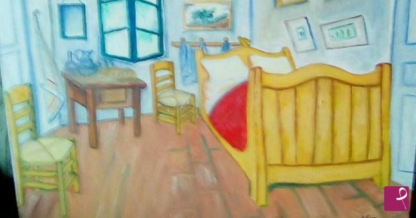 Vendita quadro - Camera da letto( Van Gogh) - Teresa Passero ...