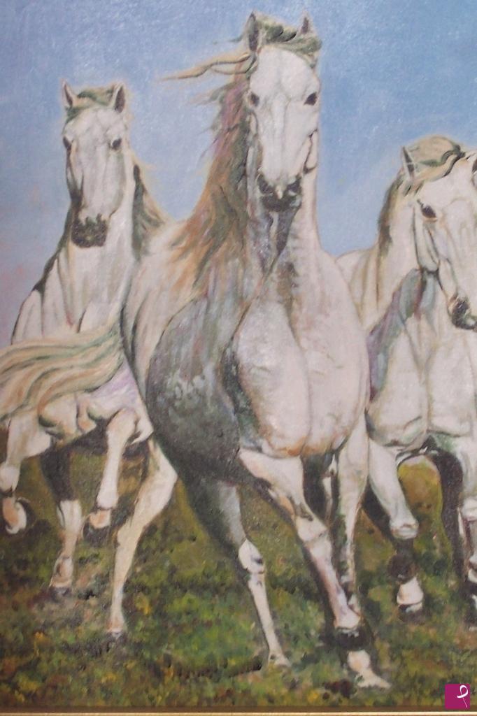 Vendita quadro - cavalli selvaggi - Fabio Battipaglia | PitturiAmo®