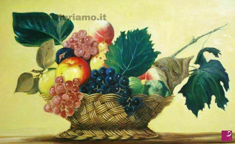 Vendita Quadro Cesto Di Frutta Salvatore De Tommaso Pitturiamo