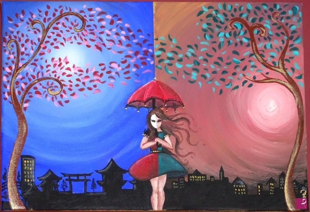 Amazing dipinti acrilico su tela bu49 pineglen for Dipinti a mano su tela