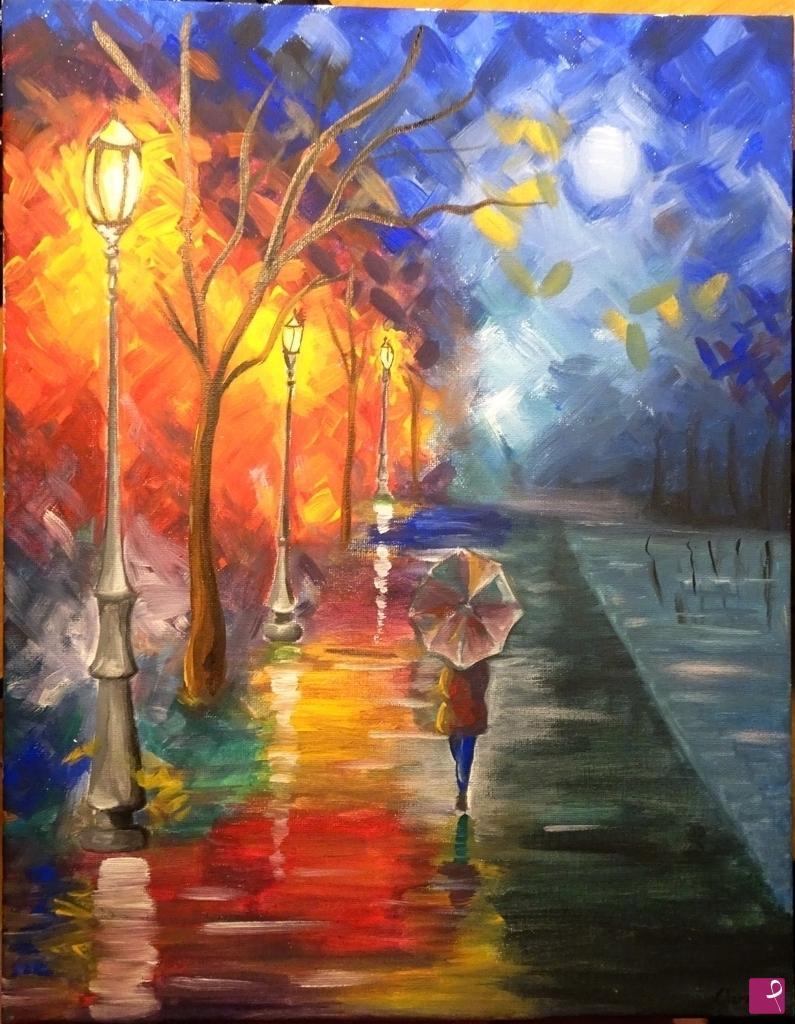Vendita quadro dipinto su tela pittura acrilica su for Quadri facili da dipingere
