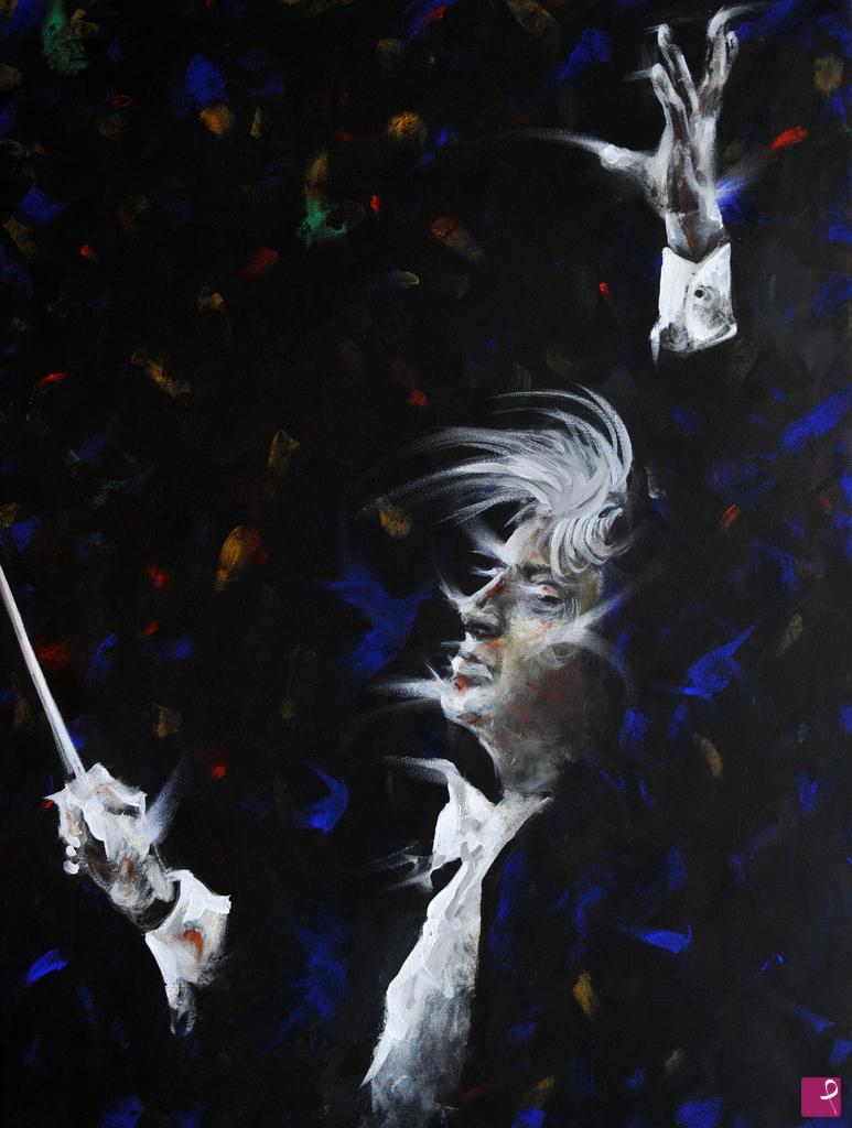 Vendita quadro direttore d orchestra allegro vivo eros
