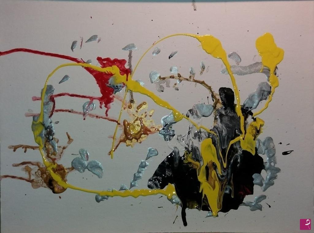 Doronarte handmade quadro dipinto a mano gigli etsy
