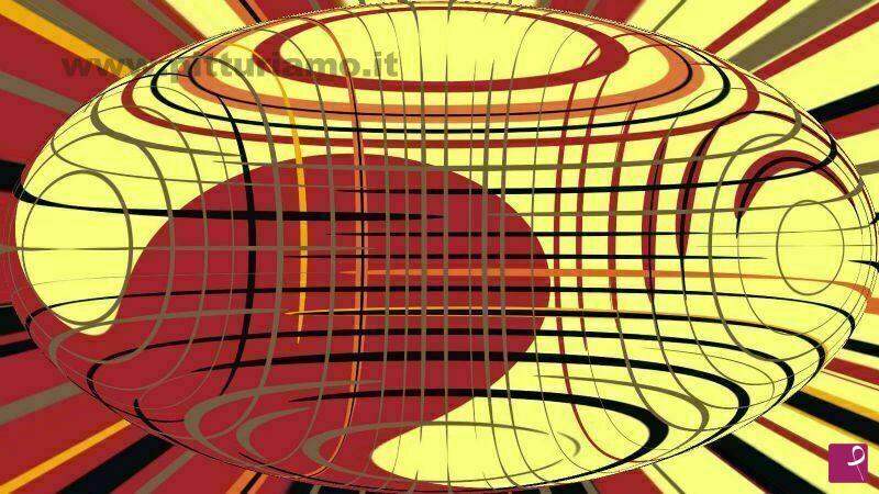 Vendita quadro ellisse geometrica vito spada pitturiamo®
