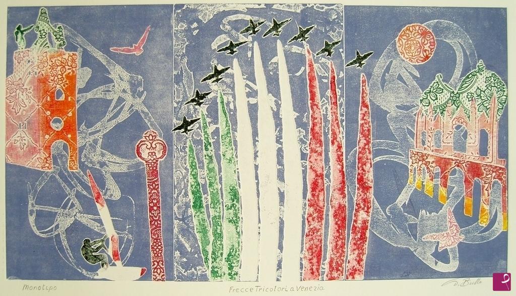 Vendita quadro frecce tricolori a ve tarquinio bullo