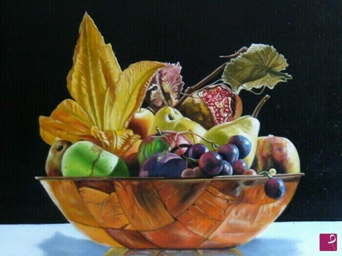 Vendita quadro frutta del mio orto francesco visentin for Orto mio vendita online