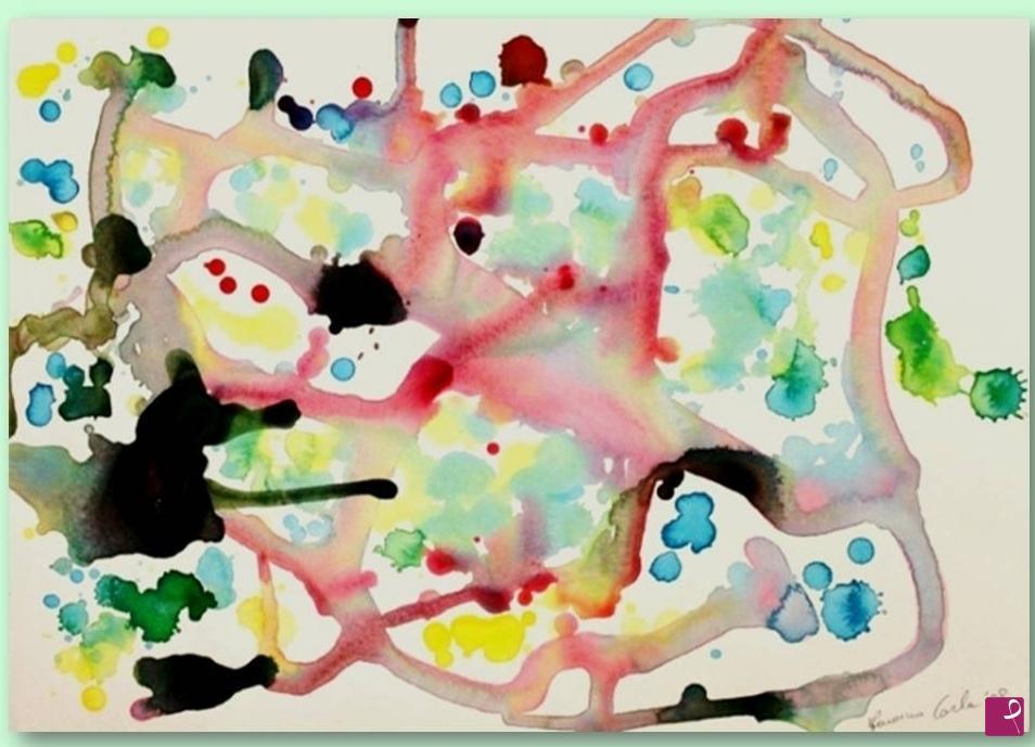 Stampe artistiche quadri e poster con acqua astratto bianco e