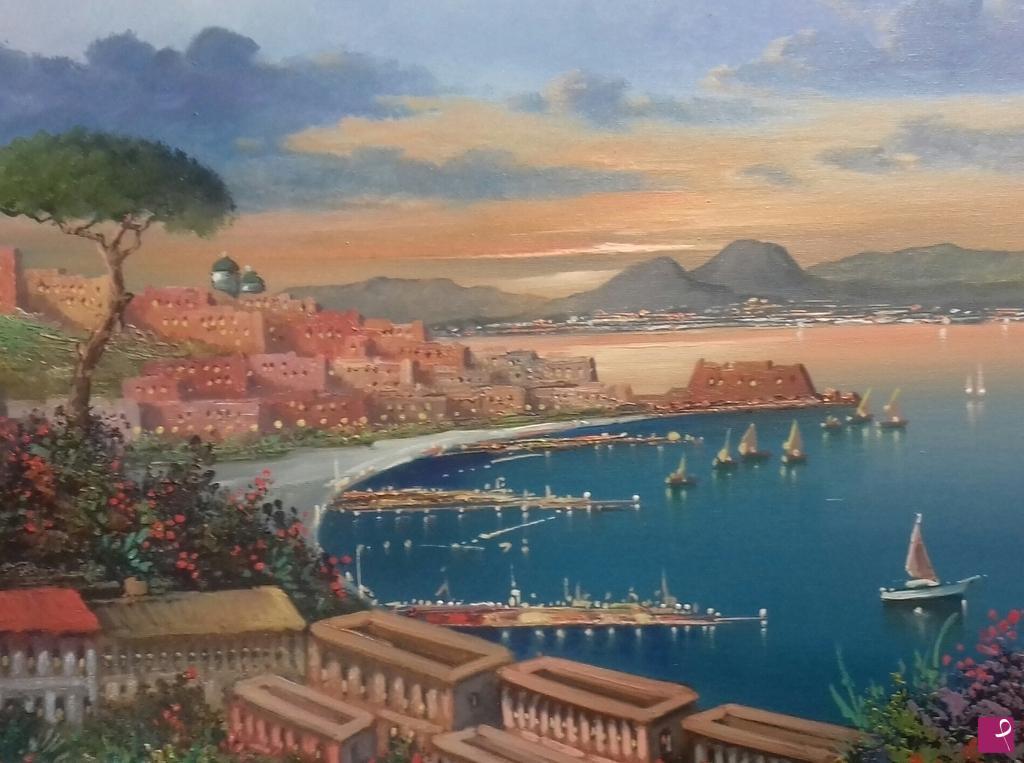 Vendita quadro - Golfo di Napoli - Luigi Varlese  db70a5f77cb43