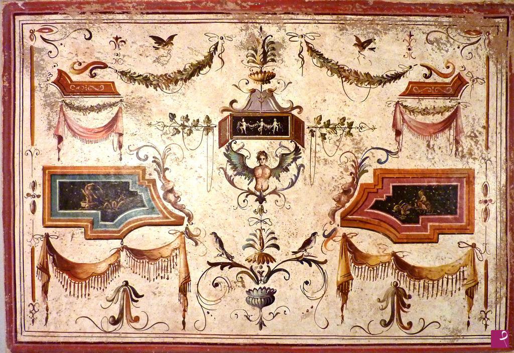 Vendita quadro grottesca el pit r decorazioni - Decorazioni grottesche ...