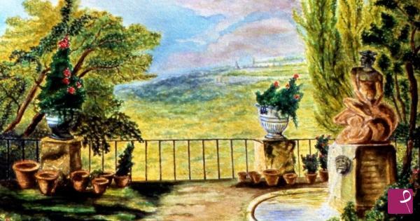 Vendita quadro il giardino vincenzo cionini pitturiamo - Il giardino segreto dvd vendita ...