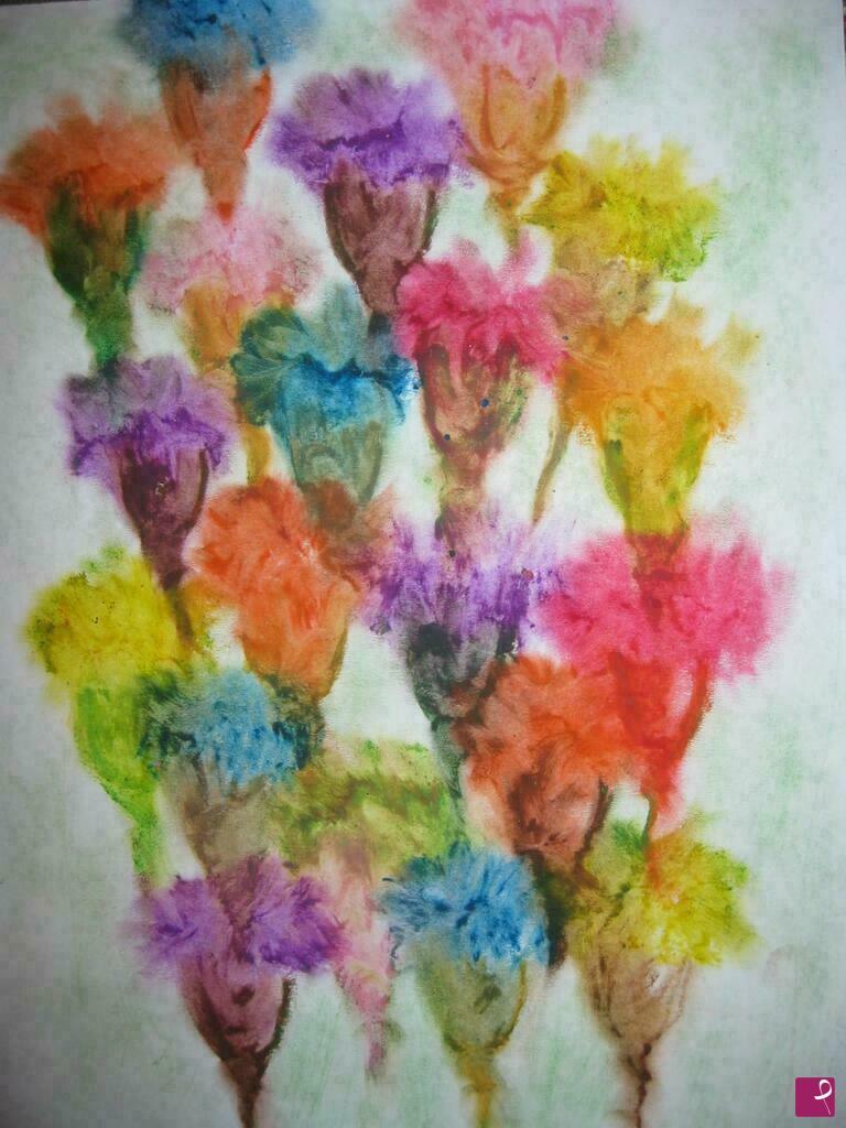 Vendita quadro il mondo dei fiori immaginari arianna for Quadri fiori secchi vendita