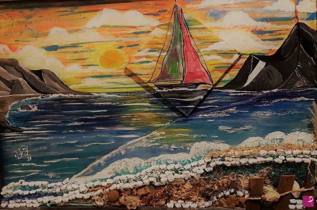 Vendita quadro il pianto del mare nostro liberum papilionem