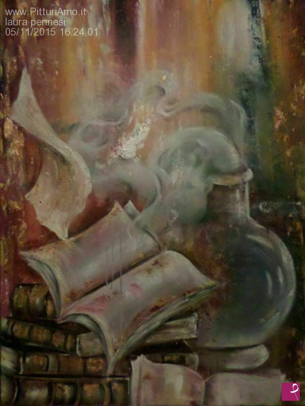 Vendita quadro il profumo dei libri laura pennesi for Libri in vendita online