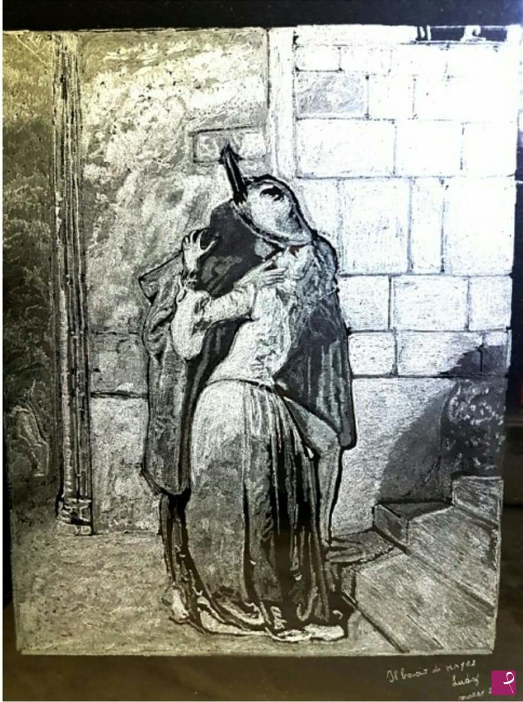 Conosciuto Vendita quadro - Viso di Donna incisione su vetro - Lucia Di  AD97