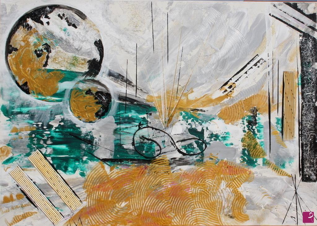 Foto su tela l infinito moderni astratti quadri