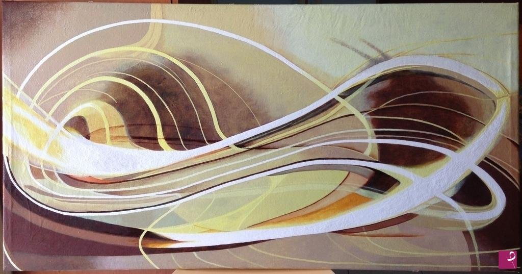 Infinito quadro astratto moderno dipinto a mano con acrilici etsy