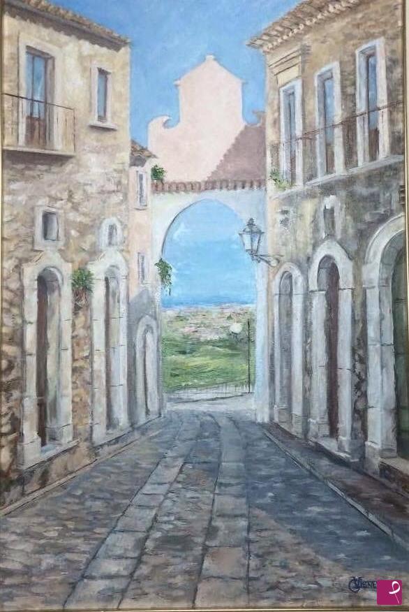 Vendita quadro la porta del sole gerace gaia - La porta del sole ...