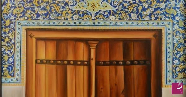 Vendita quadro la porta della moschea sheykh lotfollah a - La porta di kiev ...