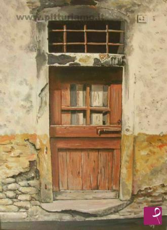 Antonio vescina artista contemporaneo pitturiamo - La vecchia porta ...