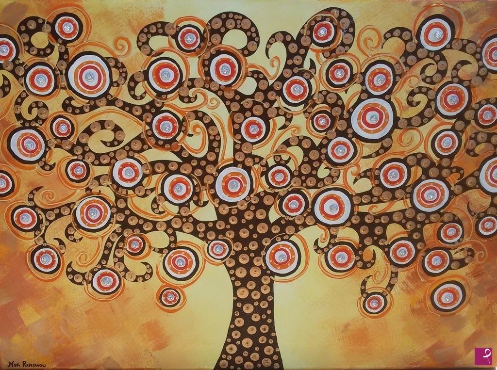 Popolare Vendita quadro - L'albero della vita - Nina Rapicavoli | PitturiAmo® DI34