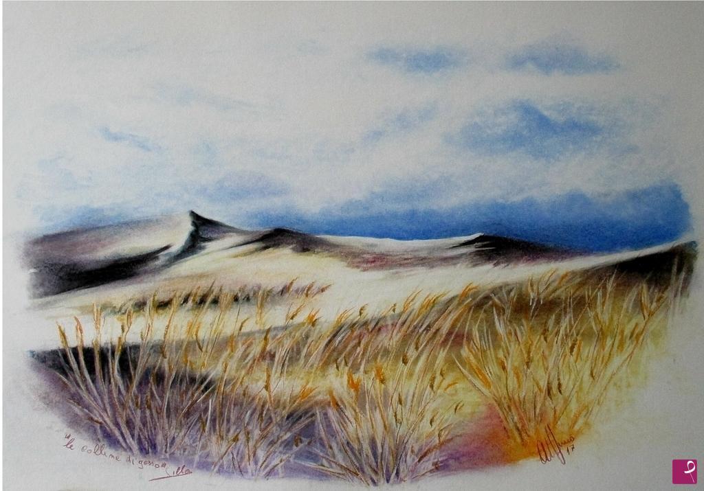 Vendita quadro - le colline di gesso - Lillomagro | PitturiAmo®