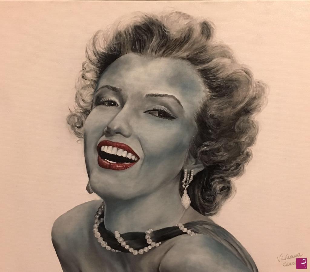 Vendita quadro - Marilyn Monroe - Carraro Viviana | PitturiAmo®