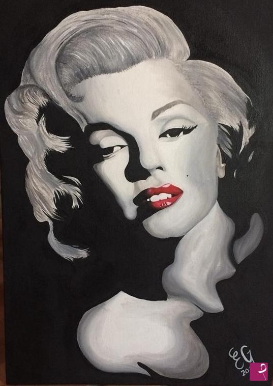 Vendita quadro - Marilyn Monroe - Emanuela Giaramita | PitturiAmo®