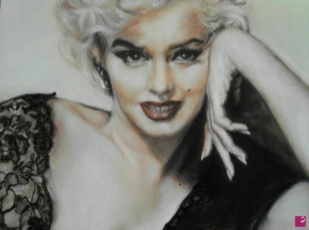 Vendita quadro - Marilyn Monroe - Simonetta Farnesi | PitturiAmo®