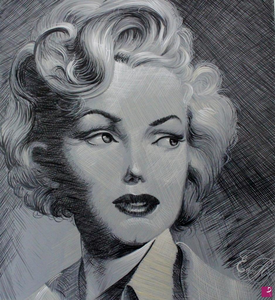 Vendita quadro - Marilyn Monroe - Enrico Roà | PitturiAmo®
