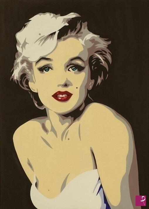 Vendita quadro - MARILYN MONROE - STYLE POP ART - Renato Visentin ...