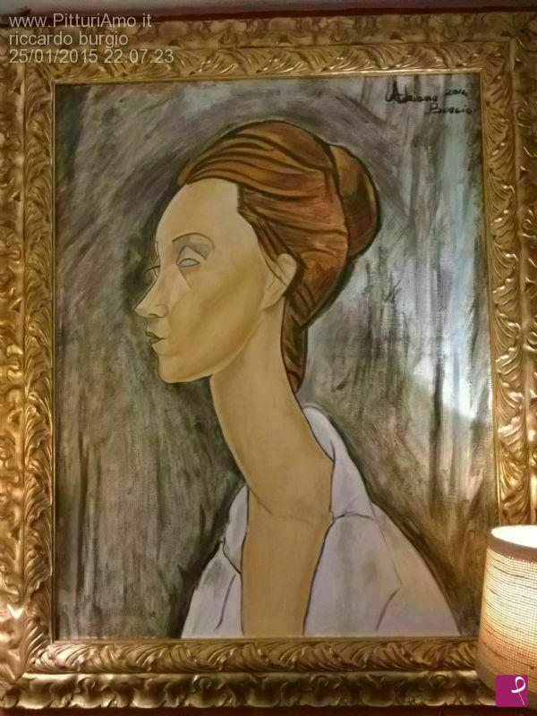 Vendita quadro - modigliani lunia czechowska falso d\'autore ...