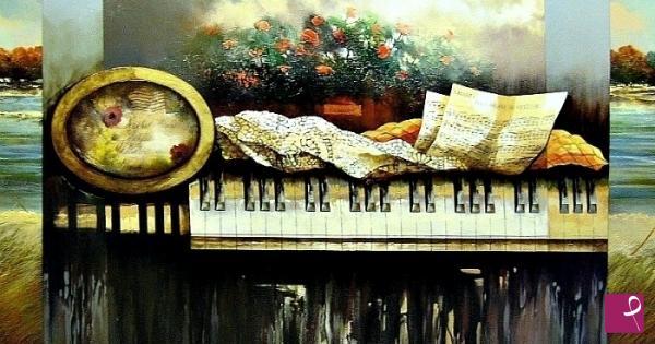 Vendita quadro musica lo specchio della vita tommaso maurizio santoro pitturiamo - Lo specchio della vita download ...