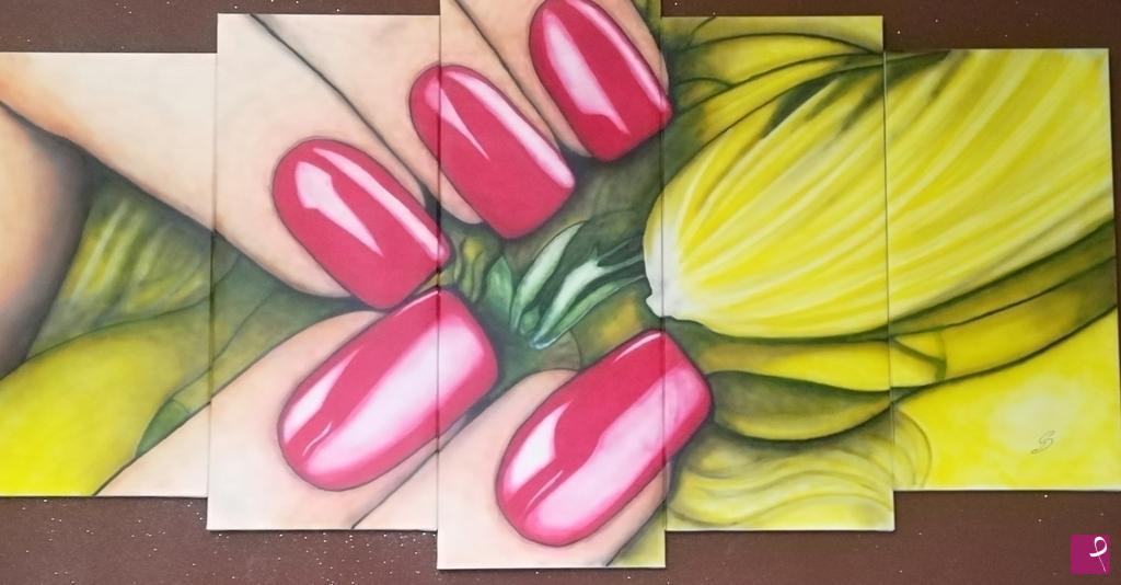 Vendita quadro nails passion gabriele delia pitturiamo®