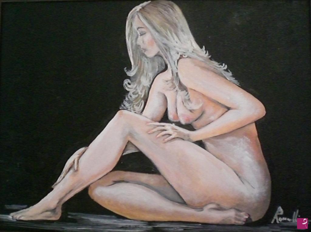 Vendita quadro - nudo di donna - Giorgia Romanelli | PitturiAmo®