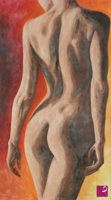 Vendita quadro - NUDO DI DONNA - Catia Biso | PitturiAmo®
