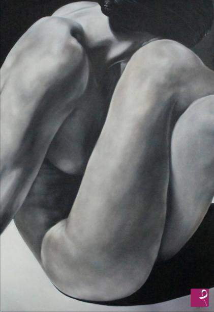 Vendita Quadro Nudo Di Donna Bianco E Nero Pietro