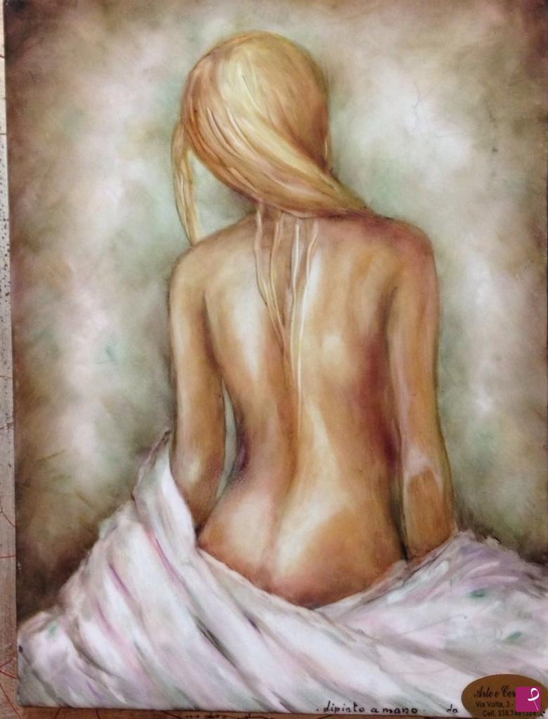 Vendita quadro - NUDO DI DONNA (NAKED WOMAN) - Laura Motti   PitturiAmo®