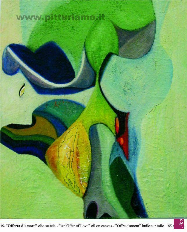 Vendita quadro - Offerta d\'Amore - Giuseppe Bertolini Berg | PitturiAmo®