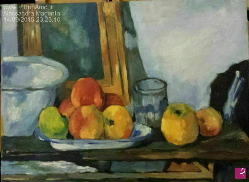 Vendita quadro - Omaggio a Cezanne - Natura morta - Alessandra ...